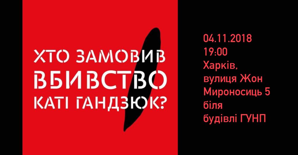 2018-11-04 Хто замовив вбивство Каті Гандзюк