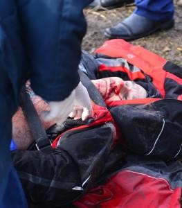 Ігор загинув від вибуху російської міни 22 лютого 2015 року у Харкові поруч з Палацем Спорту.